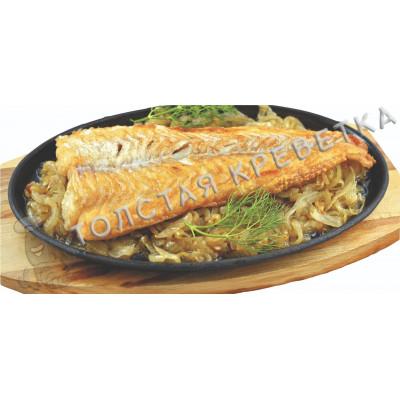 Рыба на сковороде (телапия)